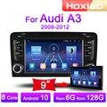 Автомагнитола 2DIN, 4G, Android, мультимедийный видеоплеер для Audi A3, 2003, 2004, 2005, 2006, 2006, 2007, 2008, 2009, 2010, 2011, GPS-навигация