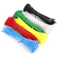 100PCS 150mm Self-locking Nylon Cable Ties Plastic Zip Tie Wire Binding Wrap straps Wiring Accessories Certified Supplies TSLM2