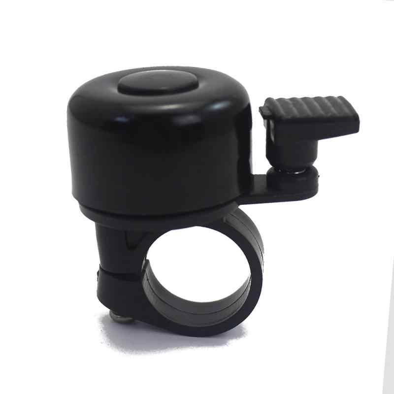Для безопасного велосипедного руля, металлическое кольцо, черный велосипедный звонок, звуковая сигнализация, Аксессуары для велосипеда, уличные защитные колокольчики