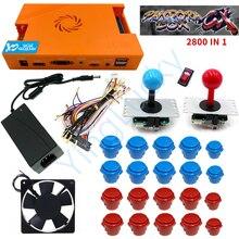 Pandora joystick DIY console kit-Gamepad stand-Arcade plug-integrated game-Pandora-Box 2500 -in-1 9d