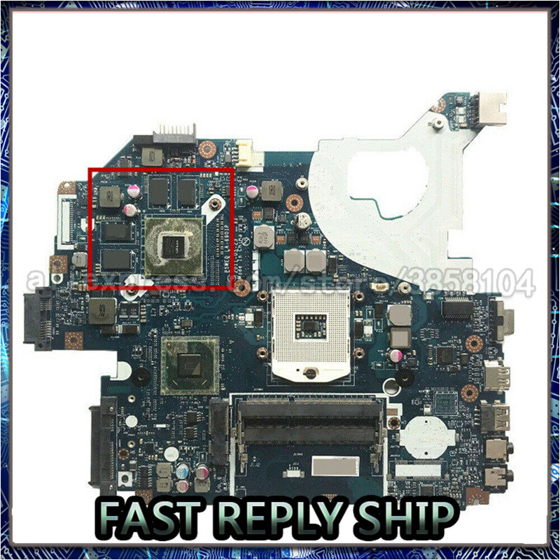 LA-6901P Laptop motherboard for Acer 5750G GT610 notebook pc main board mainboard test ok image