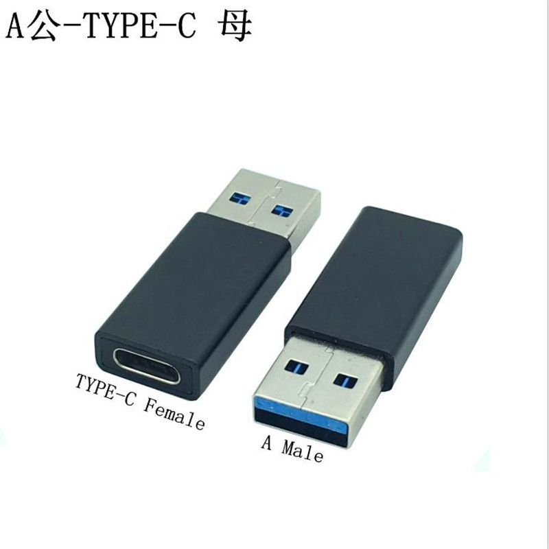 Type c female to USB 3 0 male type c adapter LeTV mobile phone font b