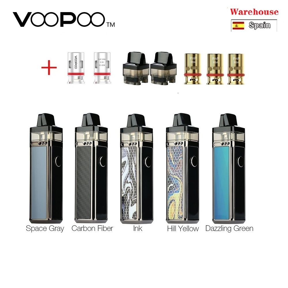Hot!!! Original VOOPOO VINCI R Mod Pod Vape Kit With 1500mAh Battery & 5.5ml Cartridge Electronic Cigarette Vaporizer Vape Kit