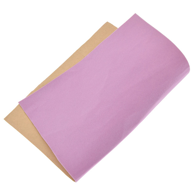 A4 Soft Surface Self-Adhesive Velvet Fabric DIY Patchwork Quilting Shoes Gloves Clothing Decoration Accessory 3