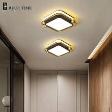 Современный светодиодный потолочный светильник квадратный и