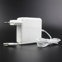 цена на 60W 16.5V 3.65A L-tip Laptop Power Adapter Charger for Apple Macbook Pro A1184 A1330 A1344 A1278 A1342 A1181 EU plug