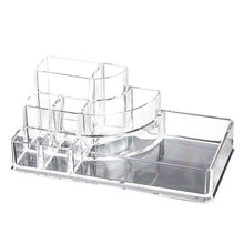 Acrylic Jewelry Cosmetic Storage Drawers Display Transparent Makeup Organizer Boxes Case Cosmetic Storage Box-Y-1001 plastic storage box makeup organizer case drawers cosmetic jewelry display office sundries box home make up container boxes