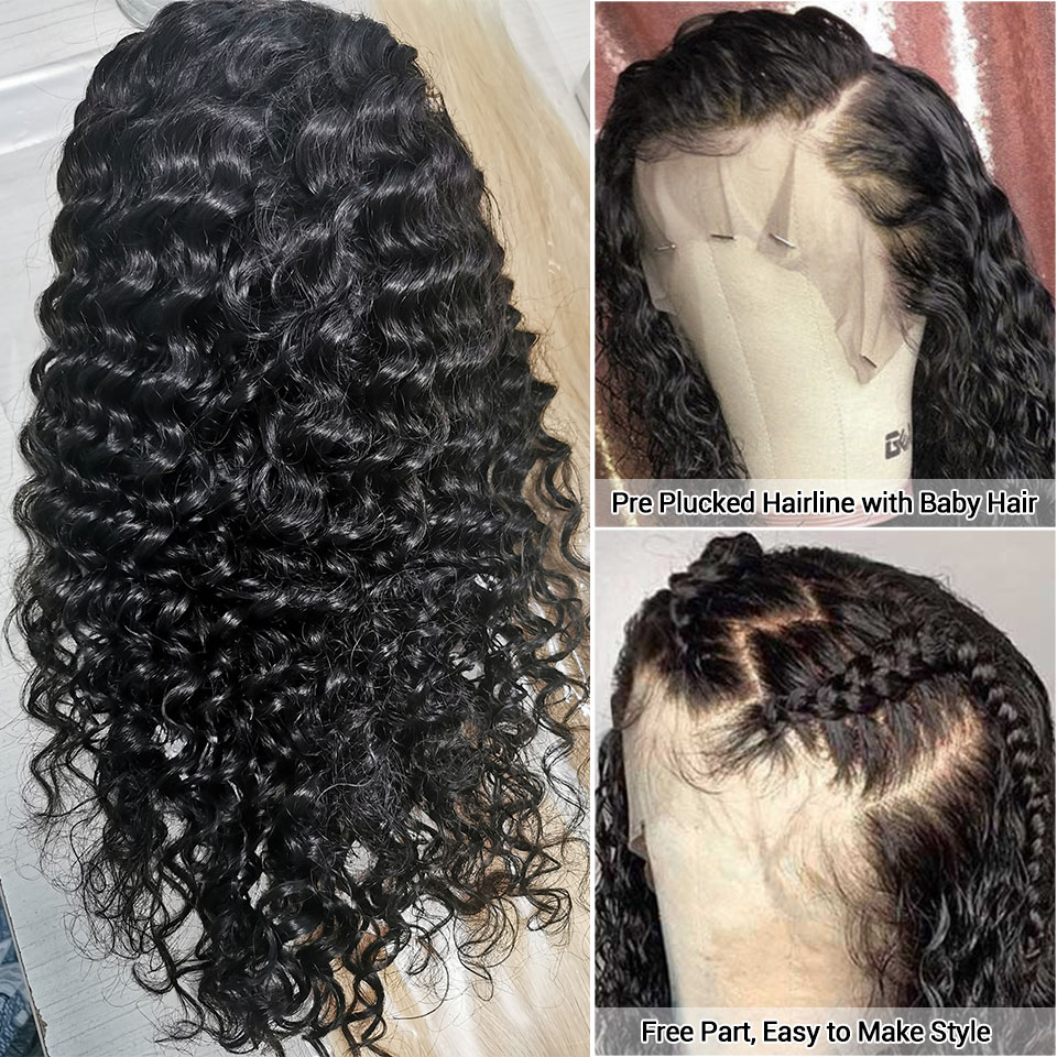 new new detail of the deep wave hair wig