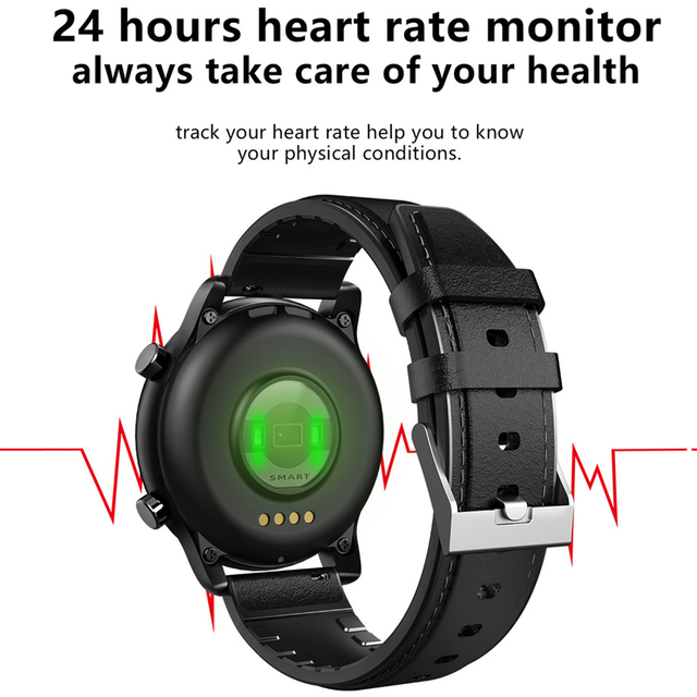 Full Touch Smart Watch Bluetooth Call Play Music Sport Smartwatch Men Women Heart Rate Fitness Tracker Watch For Android Iphone 5