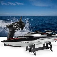 FeiLun FT012 Brushless RC Racing Boat 2.4G 4CH Remote Control Speedboat 45km/H Self Righting Anti Collision RC Toys
