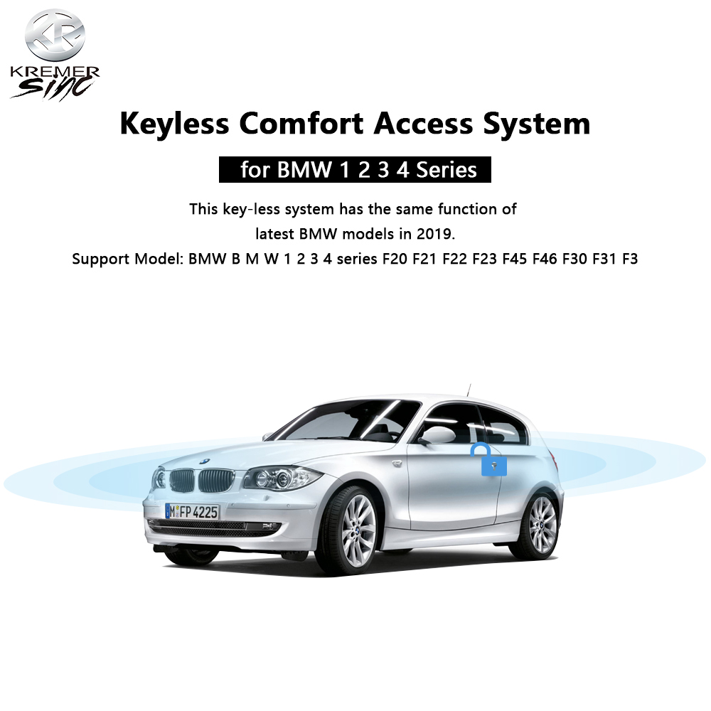 Free Shipping aftermarket Keyless Comfort Access for B M W 1 2 3 4 series F20 F21 F22 F23 F45 F46 F30 F31 F32 F34
