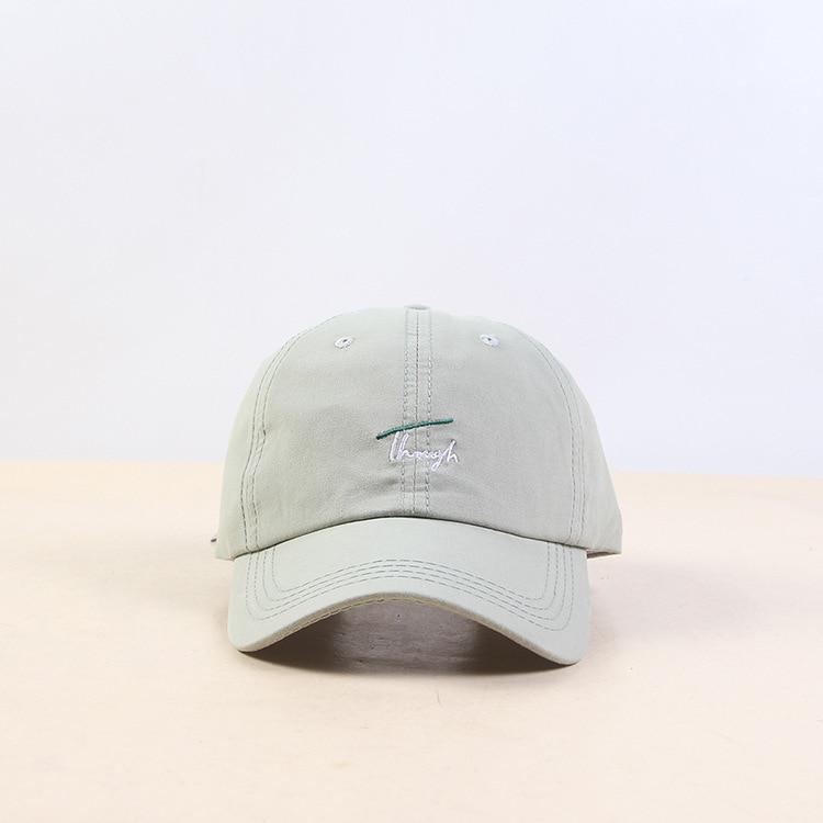 Хип Хоп Регулируемый Дальнобойщик Кепка папа летняя шляпа вышивка хлопок буквы бейсболки женские мужские унисекс Snapback - Цвет: Color   3