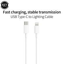 PD 18W 30W кабель для быстрой зарядки для USB C коннектор Lightning для iphone Xs X 8 pin к type C 3A быстрое зарядное устройство для type C Lightning Macbook