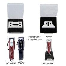 Машинка для стрижки волос, керамическая головка, Сменная головка, триммер для волос, совместимая с WAHL Detailer, изготовлена из высококачественного материала