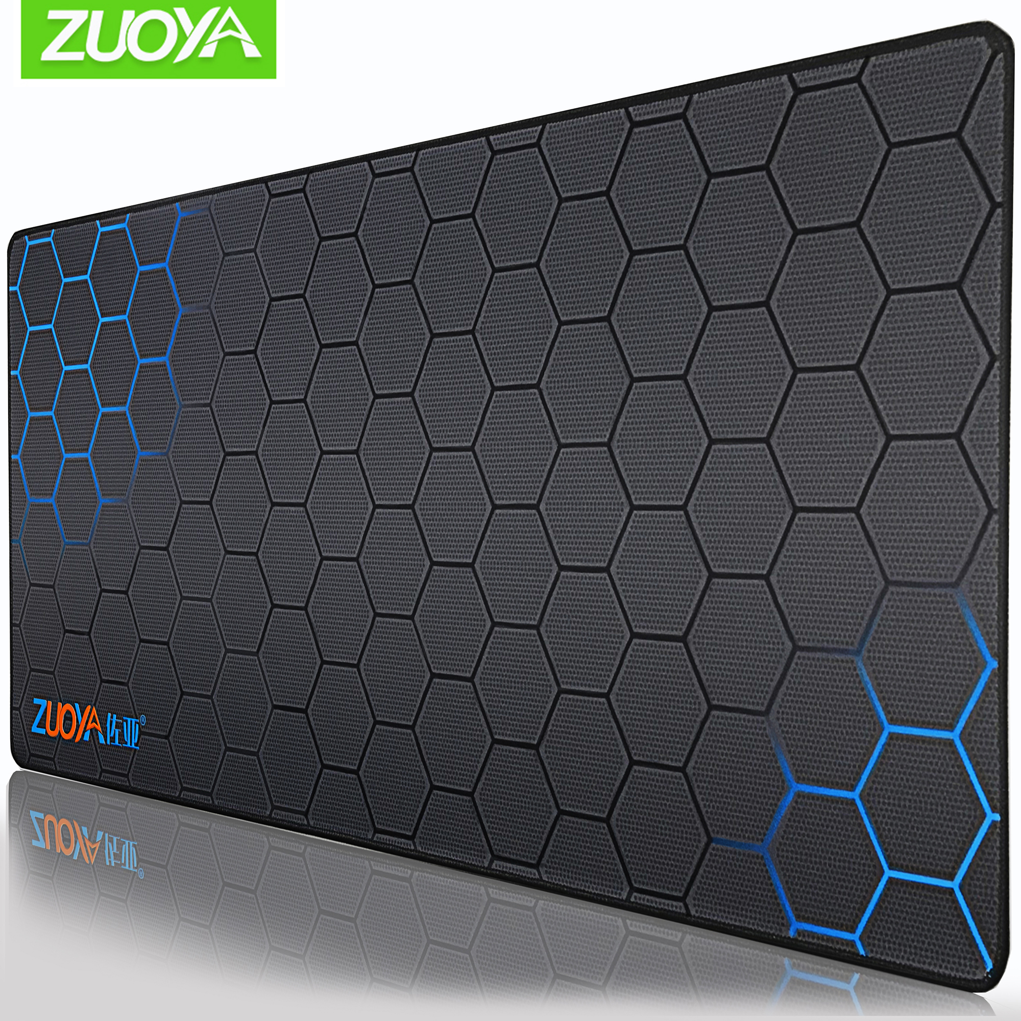 ZUOYA Gaming Mousepad Extra <font><b>Large</b></font> <font><b>Mouse</b></font> <font><b>Pad</b></font> Old World Map Anti-slip Natural Rubber with Locking Edge <font><b>XXL</b></font> Gaming <font><b>Mouse</b></font> Mat image