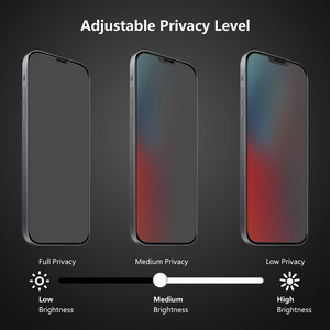 Image 5 - 2pcs Privacy 9H Tempered Glass for iPhone 12 Mini 12 12 Pro 12 Pro Max Anti Peep Screen Protector