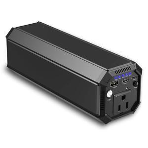 Портативный внешний аккумулятор 30000mAh 110V/220V AC Outlet 100W/116Wh, зарядное устройство для ноутбука и кемпинга, Внешняя резервная батарея