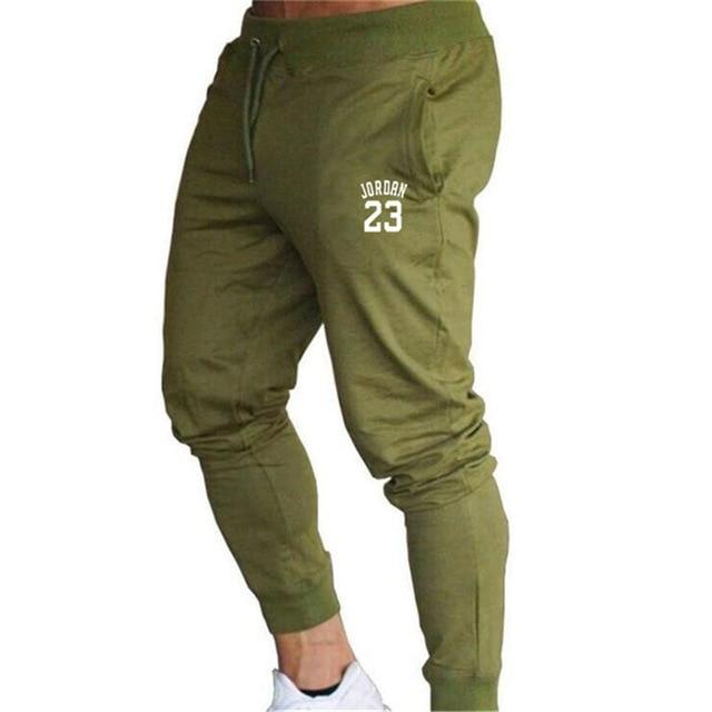 2020 New Men Joggers for Jordan 23 Casual Men Sweatpants Gray Joggers Homme Trousers Sporting Clothing Bodybuilding Pants K