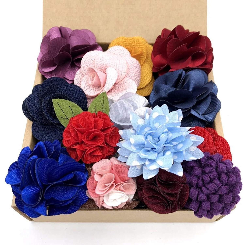 Красочные мужские нагрудные Цветы шелковые свадебные классические аксессуары жениха Мода