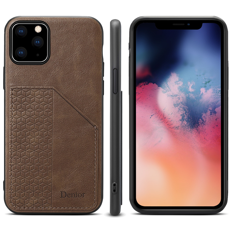 Luxury Leather Card Holder Case for iPhone 11/11 Pro/11 Pro Max 7