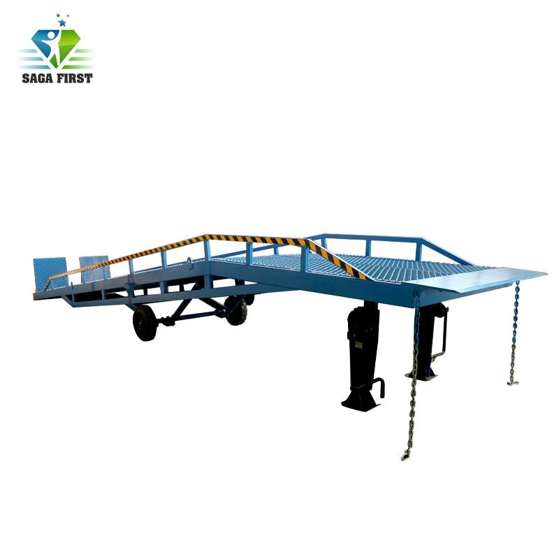 CE Certified Hydraulic Manual Lifting Dock Leveler
