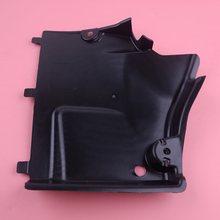 DWCX 8K0825201E Black Right Front Underbody Shield Panel Cover Trim ABS Fit for AUDI A4 S4 A5 S5 2010 2011 2012 2013 2014 2015 dwcx car front left exterior pillar corner trim window triangle cover abs 75495 tr0 a01 fit for honda civic 2012 2013 2014 2015