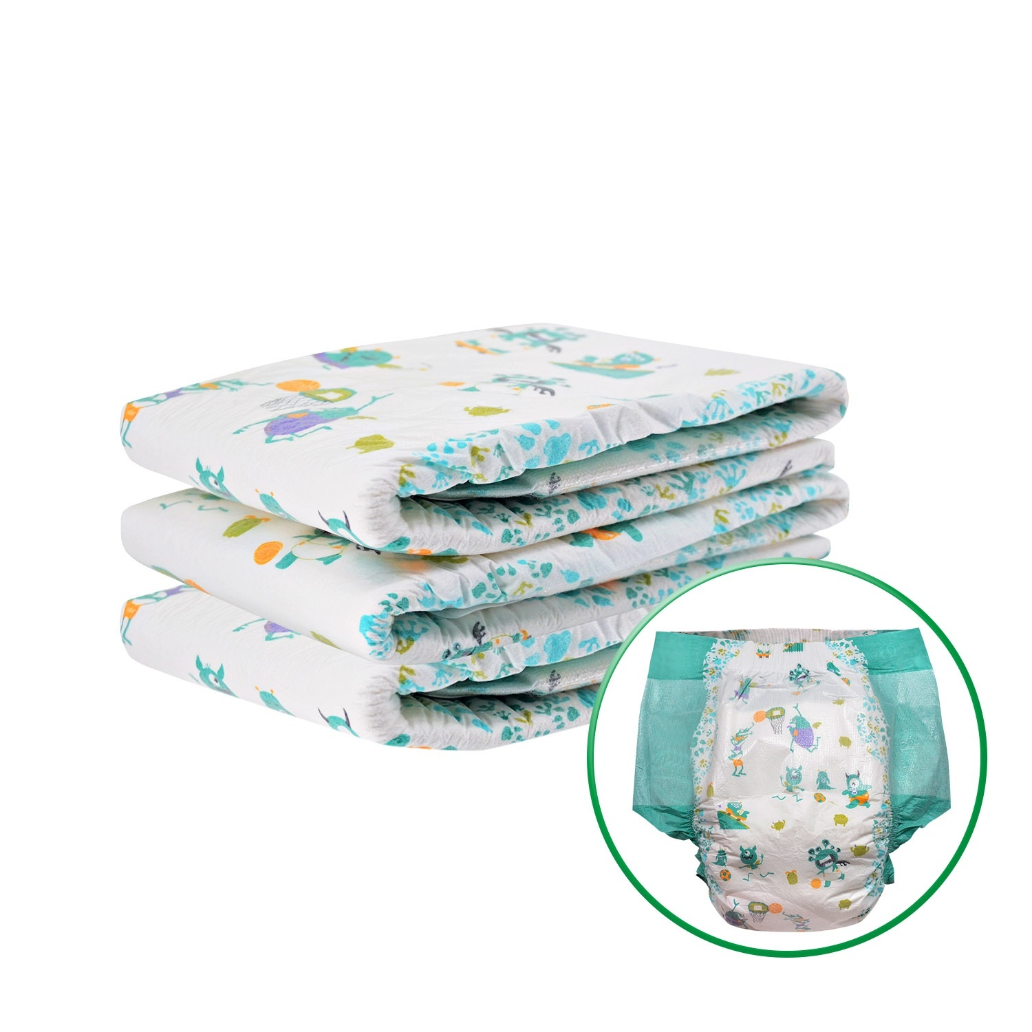 DDLG Training Pants Large Capacity 6000ML ABDL Adult Baby Diaper Elastic Waist High Absorption Diaper