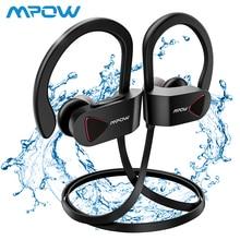 Mpow D8 Bluetooth 4.1Headphones IPX7 Waterproof Sports Headphones Wireless Earbuds HiFi Stereo in-ear Earphones With Mic bluetooth headphones best wireless sports earphones ipx7 waterproof hd stereo sweatproof in ear earbuds