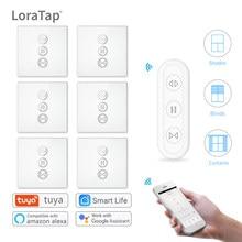 Tuya Smart Leven Gordijn Schakelaar Afstandsbediening Jaloezieën Motor Rolluik Rf + Wifi App Timer Google Home Aelxa Echo smart Home