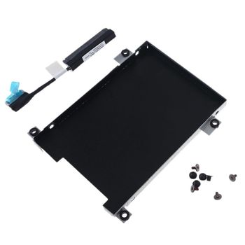 HDD Caddy Bracket Hard Drive Adapter SSD Cable Connector Laptop Accessory Screw for -DELL Latitude E5480 Laptop