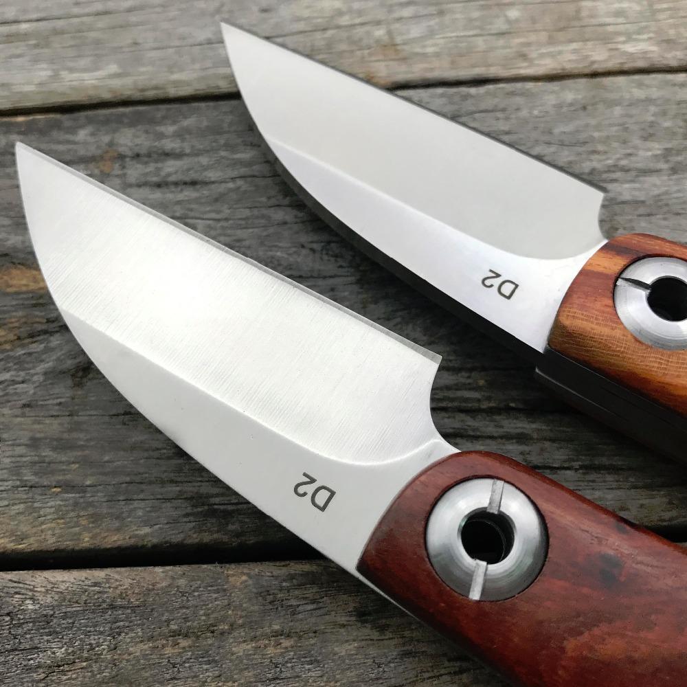 LDT razor Mini kokkuklapitav nuga D2 teraga puitkäepide Terav - Käsitööriistad - Foto 3
