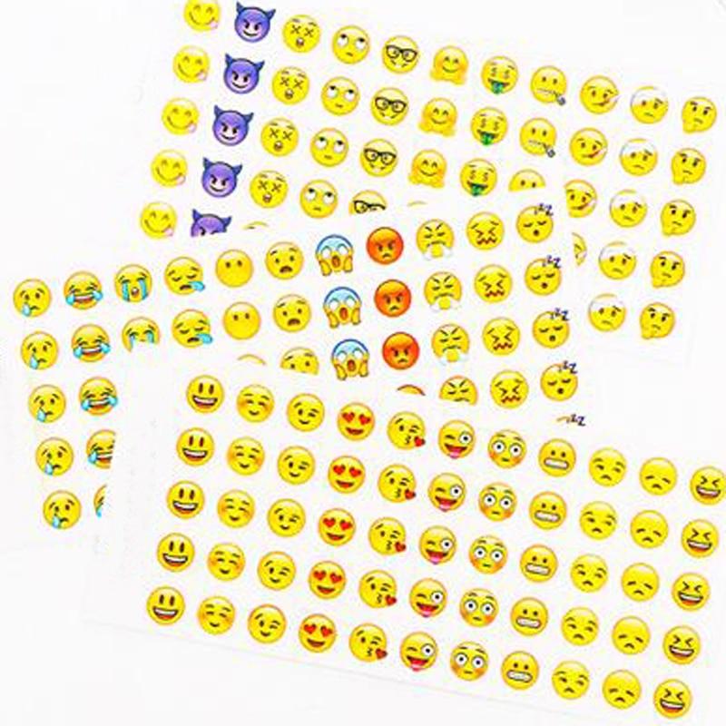 12 Sheet Toys Sticker Decorative Stickers Smile Sticker For Teachers Smiley Face Paper Label School Rewards Kids
