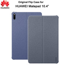 Original huawei matepad 10.4 polegada tablet caso capa de couro flip suporte inteligente sono acordar matepad 10.4 funda caso