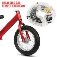 Outdoor Cycling Equipment Bike Balance Car Flower Drum Lamp Exquisite Wheel Spokes Lights Necessary Outdoor Cycling Gadgets