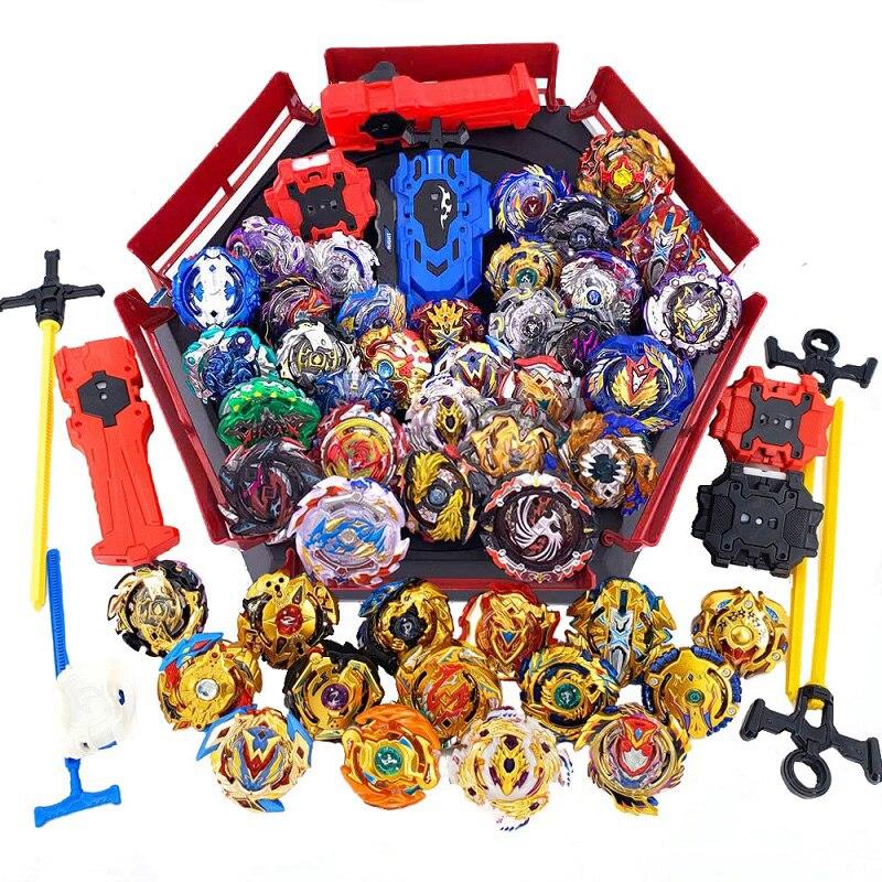 Волчок Beyblade GT Burst с лаунчером, игрушечный металлический прибор с лезвиями, для детей