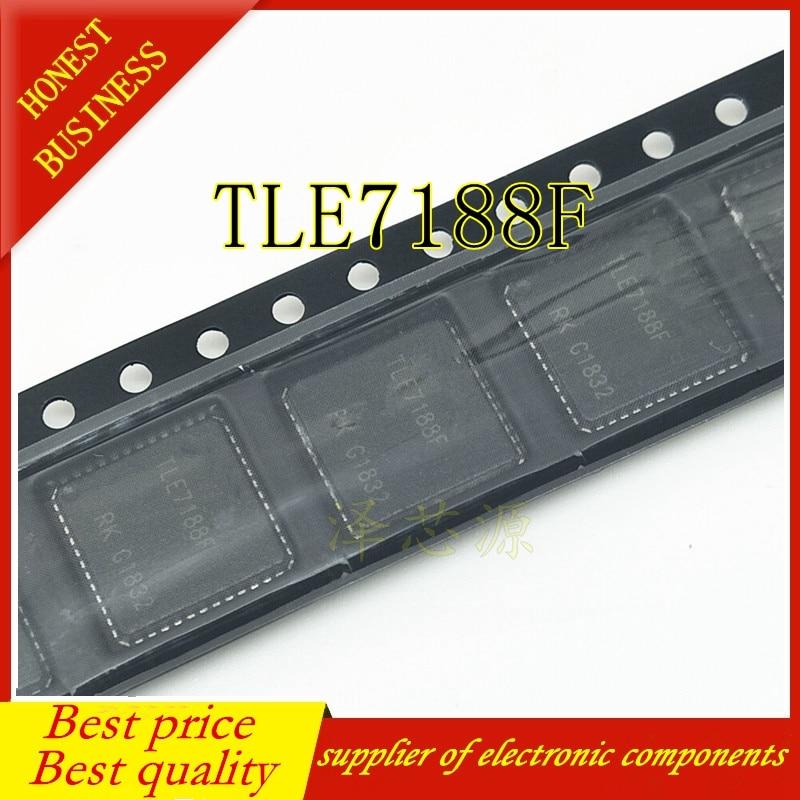 10PCS TLE7188F IC DRIVER 3PH BRIDGE 48-VQFN 7188 TLE7188 PG-VQFN-48-4  Best Quality