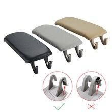 Кожаный чехол для защелка подлокотника автомобиля, 1 шт., чехол для Audi A6 C5 1998 2005, центральный приставка, коробка для хранения подлокотников, крышка, автомобильные аксессуары