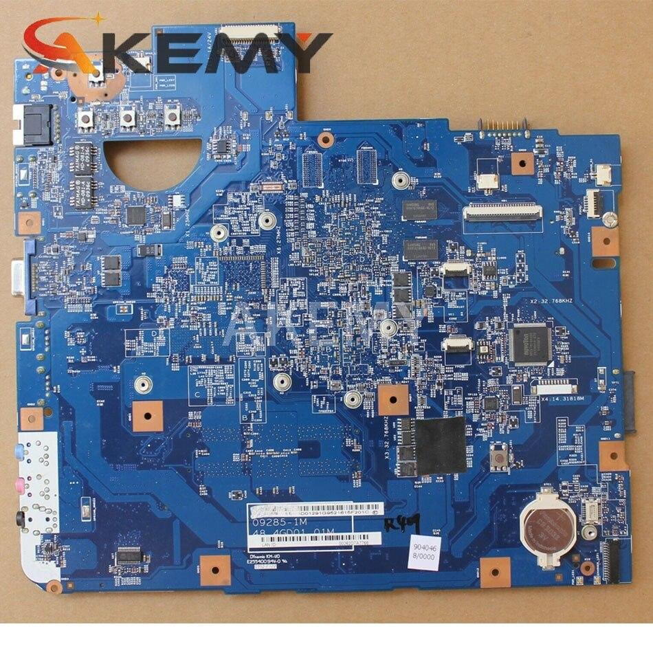 computador portátil placa-mãe mbpmg01001 mb. pmg01.001 48.4gd01.01m hm55 ddr3 512mb gpu cpu livre