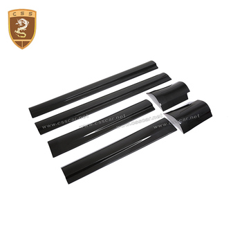 Full Carbon Fiber Exterior Door Panels Trim For Levante Auto Accessories  Decoration For Maserati Levante 2016 2017 2018 Hot