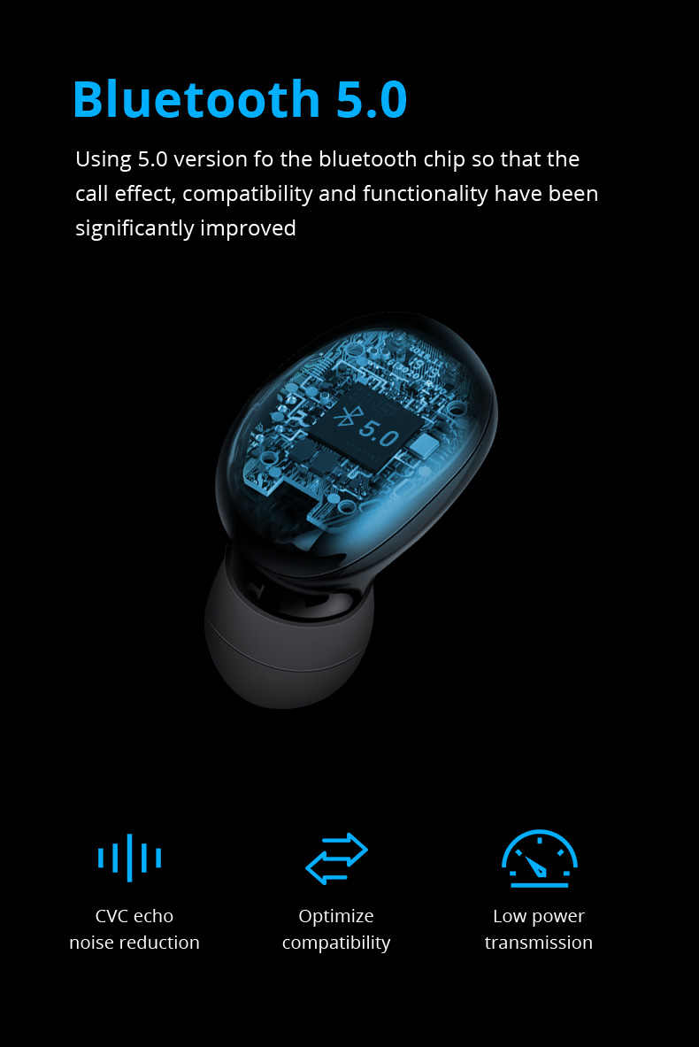 TWS Q67 Bluetooth Kopfhörer 5,0 Drahtlose Ohrhörer 3D Stereo Mini Mit Dual Mic Sport Wasserdichte Kopfhörer Auto Paarung Headse
