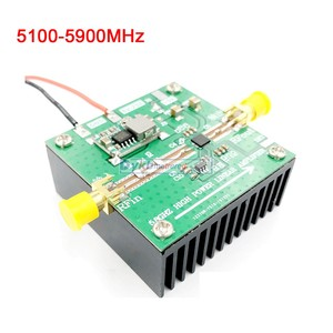 Image 5 - 2.4Ghz / 5Ghz / 5.8Ghz WiFi 스윕 방해 전파 Shielder 2.4G 5G 5.8G WiFi 방해 전파 방해 기 개발 보드/1W 2W 전력 증폭기