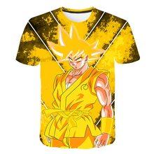 3D t shirt Anime Dragon Ball Z Goku Summer Fashion Tee Tops Boy Master Roshi Print Clothes Cartoon Tshirt harajuku Comics Tops harajuku anime dragon ball z dbz 3d print bulma goku flying tshirt men women casual kawaii t shirt boys blue t shirt 5xl clothes