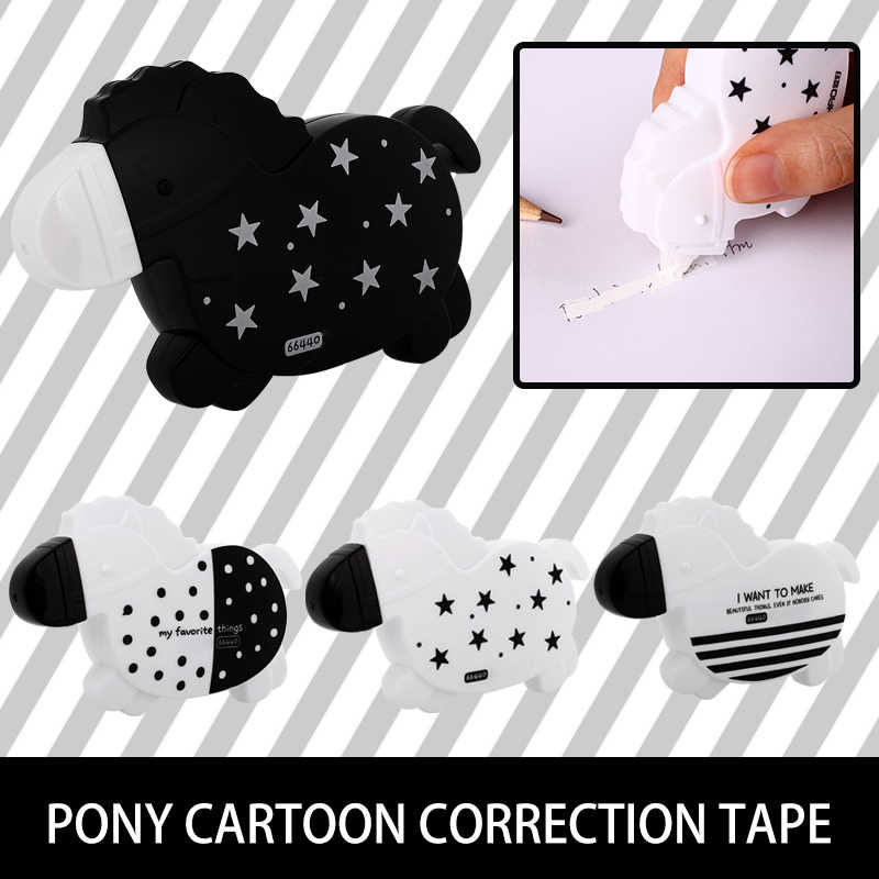 Learning Correction Tape Lovely Cartoon Light Multicolor Correct Perfect Correction Tape Child Office Student