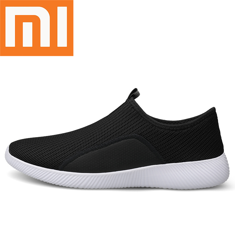 Xiaomi Mens Running Shoes Light Fashion Comfortable Breathable Non-slip Wear-resisting Height Increasing Jogging Man Sneakers