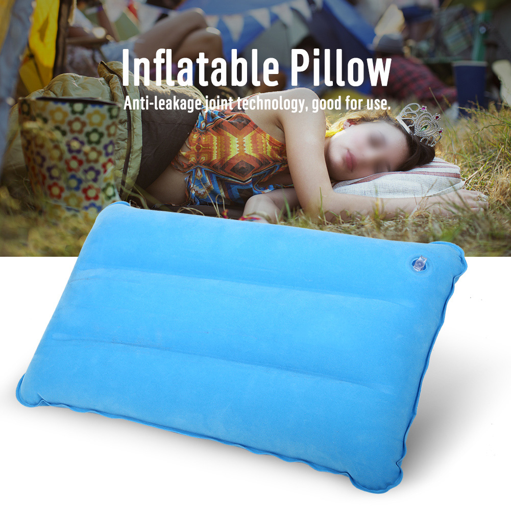 Outdoor Portable Folding Inflatable Pillow For Camping Climbing Hiking For Outdoor Camping, Travel, Office And Lunch Breaks For Fast Shipping