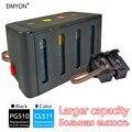 DMYON СНПЧ Замена для Canon PG510 CL511 PIXMA MP230 MP240 MP250 MP260 MP270 MP280 MP282 MP480 MP490 MP495 MP499 принтеры