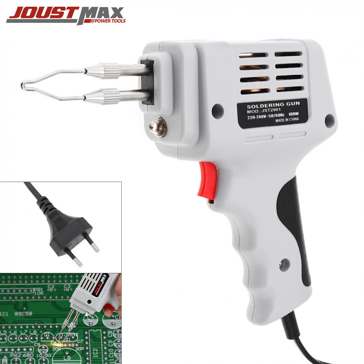 100W 220V-240V Electrical Soldering Iron Gun Fast Electric Welding Torch Tool