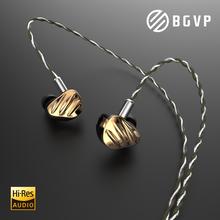 BGVP NS9 Hybrid Technologie HIFI In Ohr Verdrahtete Kopfhörer MMCX Musik Schwere Bass Monitor Kopfhörer Ohrhörer Abnehmbare Upgrade Kabel