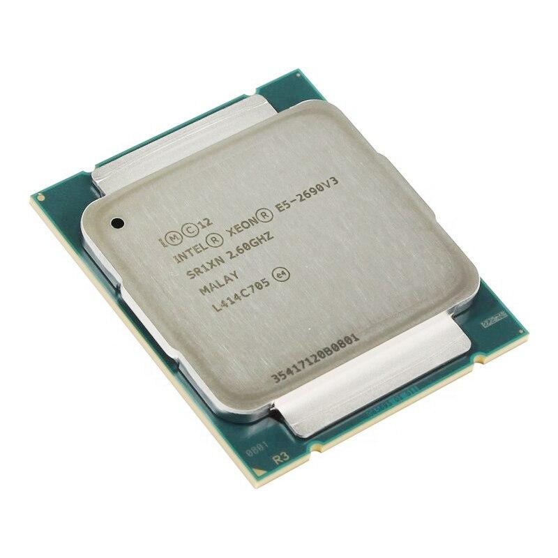 Intel Xeon E5 2690 V3 Processor SR1XN 2.6Ghz 12 Core 30MB Socket LGA 2011 3 CPU E5 2690V3-in CPU's van Computer & Kantoor op AliExpress - 11.11_Dubbel 11Vrijgezellendag 1