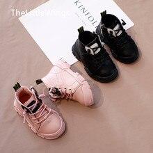 Сапоги Martin для девочек осень-зима г. Новая модная детская обувь на плоской подошве в британском стиле для отдыха для детей 0-1-3 лет
